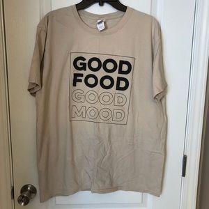 Good Food Good Mood Graphic Tee